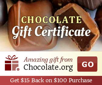 Send a Chocolate Gift Certificate