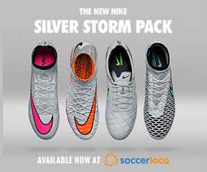 Shop Silver Storm Pack Footwear at soccerloco.com