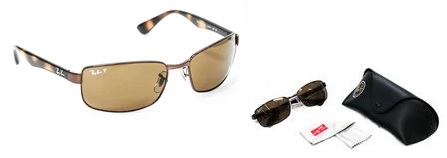 Ray-Ban Polarized Sunglasses RB3478 Was: $121.99 Now: $84.99.