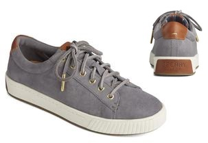 Sperry Women's Anchor Plushwave Suede Shoes Was: $59.99 Now: $39.99.
