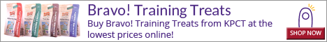 Buy Bravo! Training Treats from KPCT at the lowest prices online!