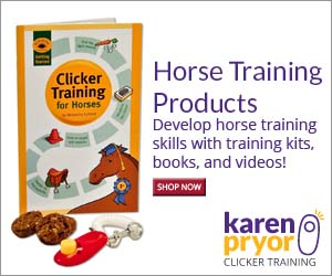 Develop horse training skills with training kits, books and videos!