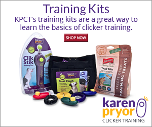 KPCT's training kits are a great way to learn the basics of clicker training.
