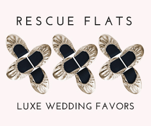 Rescue Flats Luxe Wedding Favors
