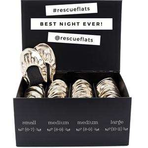 Rescue Flats | rescueflats.com | Luxury Dancing Slipper Wedding Favors in Assorted Colors | Foldable Ballet Flats