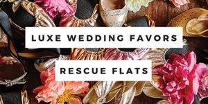 Rescue Flats | rescueflats.com | Luxury Dancing Slipper Wedding Favors in Assorted Colors | Foldable Ballet Flats