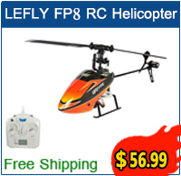 Only $56.99 for Free Shipping LEFLY FP8 RC Helicopter