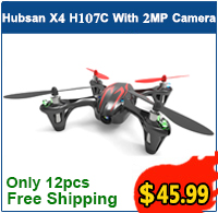 BUY NOW! Only 12pcs left, 34% OFF Free Shipping Hubsan X4 H107C Quadcopter drone with Spy Camera