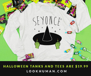 Halloween Tanks and Tees are $19.99