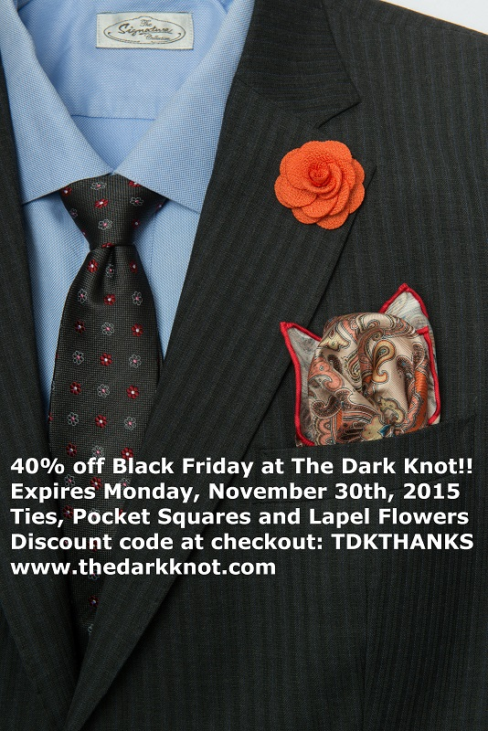 Black Friday discount for The Dark Knot Men's Accessories