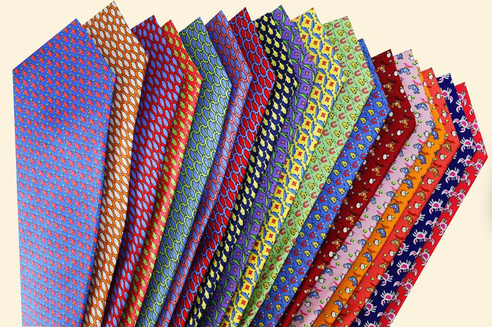 The Dark Knot offers luxurious 100% hand made silk ties