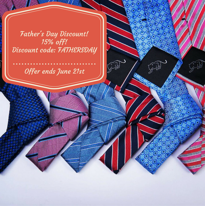 Father's Day Discount The Dark Knot Ties