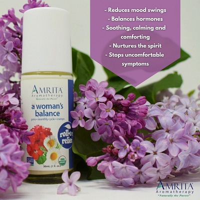 Amrita Aromatherapy A Woman's Balance Roll On Relief