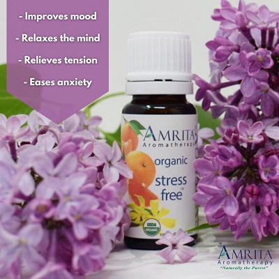 Amrita Aromatherapy Stress Free Synergy Blend