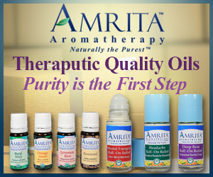 "Amrita Aromatherapy, ""Theraputic Quality Oils"""