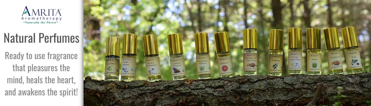 Shop Amrita Aromatherapy Perfumes