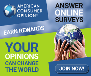 American Consumer Opinion Free Paid Surveys