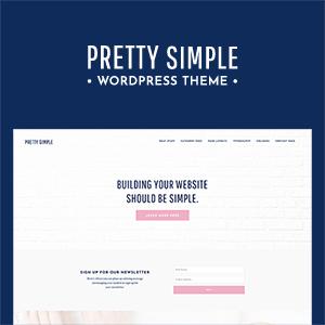 Pretty Simple WordPress Theme