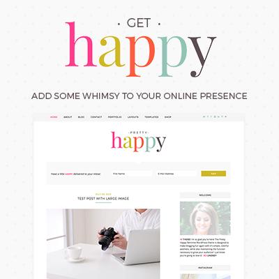 Pretty Darn Cute Design • Feminine WordPress Themes and