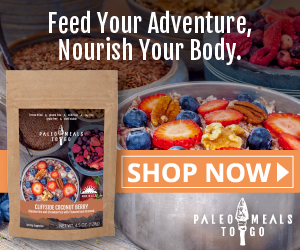 Cliffside Coconut Berry Paleo Meal To Go - Show Now!