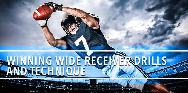 Receiver Catching Ball
