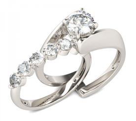 White Sapphire Wedding Ring Sets 71 Best Jeulia Interchangeable Round Cut