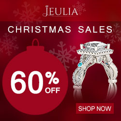 Jeulia Christmas Sales, Up to 60% Off
