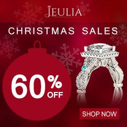 Jeulia Christmas Sales, Up to 60% Off