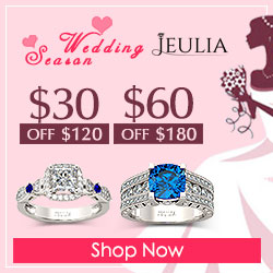 Jeulia Rings Sale, $30-$60 Off