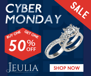 Buy One Get One 50% Off, Jeulia Sales