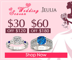 Jeulia Discount Codes - Jeulia Rings Sale, $30-$60 Off