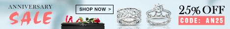 25% Off Sitewide - Jeulia.com Anniversary Sale