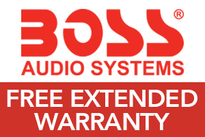Free Extended Warranty from BOSS Audio