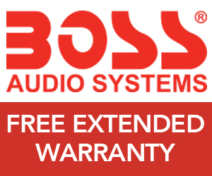 Get a Free Extended Warranty from BOSS Audio