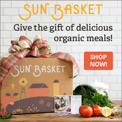 Give the Gift of Delicious Organic Meals from Sun Basket