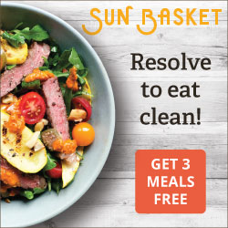meal delivery Sun Basket 3 Meals Free