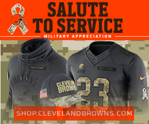 Get Cleveland Browns Salute To Service Gear Hear!