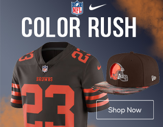 Get Cleveland Browns Color Rush Gear Here!