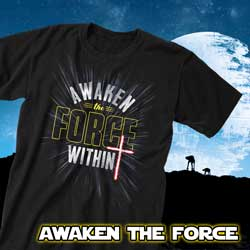Shop now for our selection of Christian Strong Awaken the Force Within Apparel
