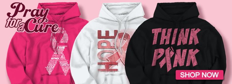 Shop Now for our selection of Christian Strong Pray for a Cure Women Hooded Sweatshirts