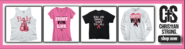 Shop Now for our selection of Christian Strong Pray for a Cure Shirts