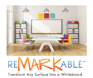 ReMARKable - Transform any surface into a dry erase board