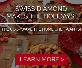 Happy Holidays from Swiss Diamond