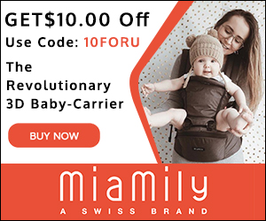 Hipster Plus Baby Carrier - Extra Storage on the Go