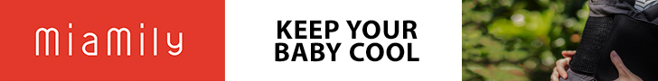Keep your baby cool - Hipster Plus Baby Carrier