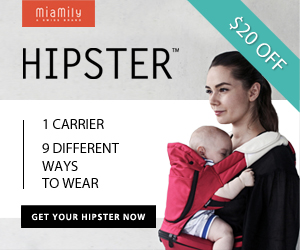 $20 off on Hipster Baby Carrier - Limited Offer - Good while supply lasts!