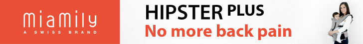 $20 off on hipster plus by miamily - limited offer - good while supply lasts!