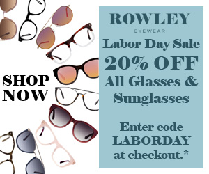 Labor Day Sale. 20% OFF All Glasses and Sunglasses