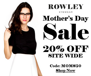 20% OFF Mother's Day Site Wide Sale