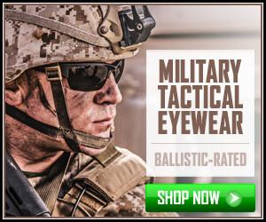 Military Eyewear Banner 300x250